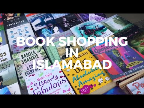 Book Shopping in Islamabad