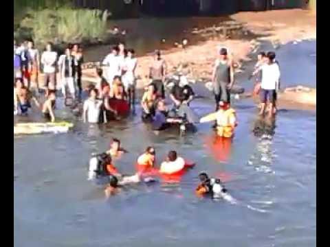 Seorang Pemuda tenggelam di Sungai Cijalu Majenang