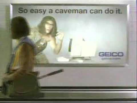 2006 Geico Commercial Caveman At The Airport Youtube