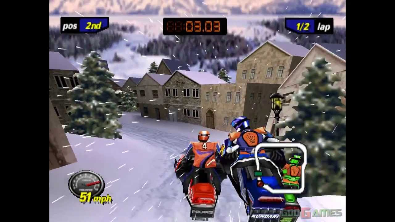 Polaris Snocross 2000