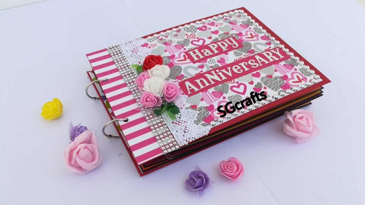SCRAPBOOK For Anniversary