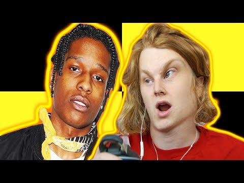 LIVING LEGEND! A$AP Rocky - A$AP Forever (Official Video) ft. Moby REACTION!