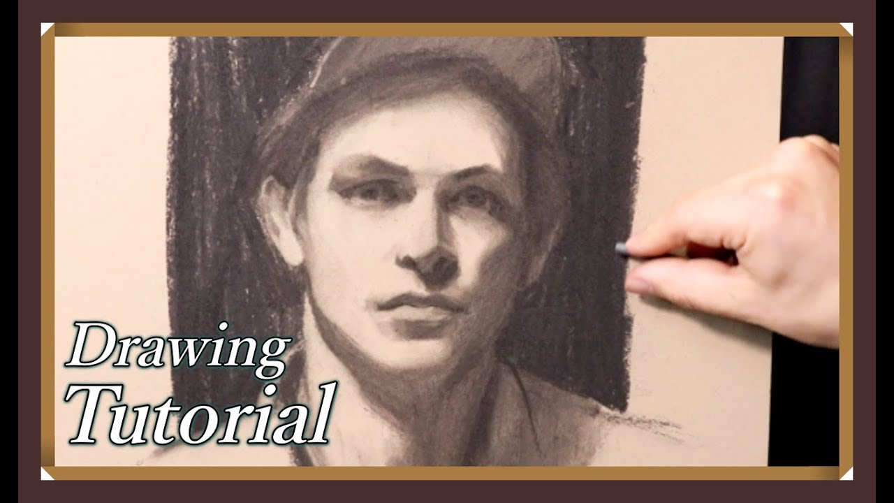 How To Draw A Portrait Using Abstract Shapes Real Time