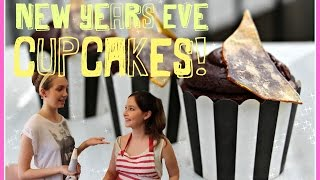 New Years Eve Choc Cupcakes | The Bliss Kitchen