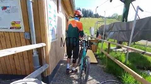 Testfahrt Bikepark Isny Felderhalde Zweiradsport Geyer