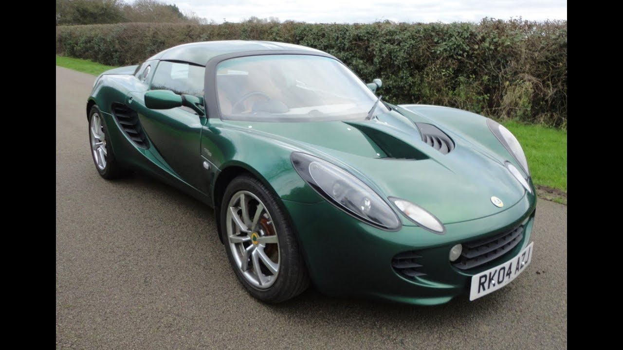 Lotus Elise IIIS (2004) - YouTube