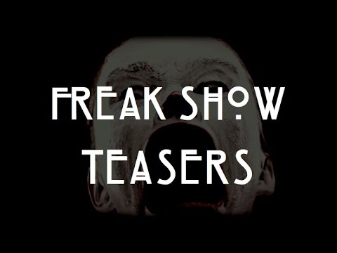 American Horror Story: Freak Show | Official Teasers 1-20