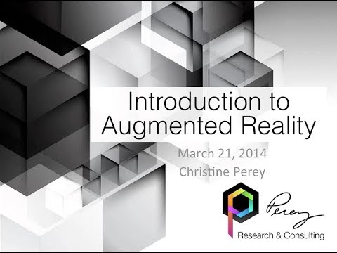 Webinar: Introduction to Augmented Reality