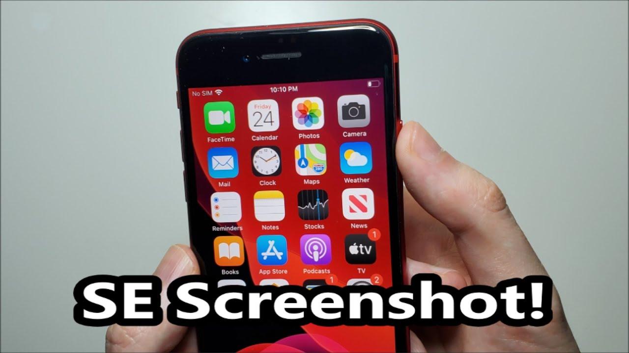 iPhone SE (11) How to Screenshot!