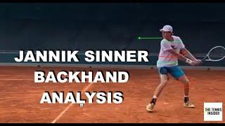 Jannik Sinner Backhand Analysis