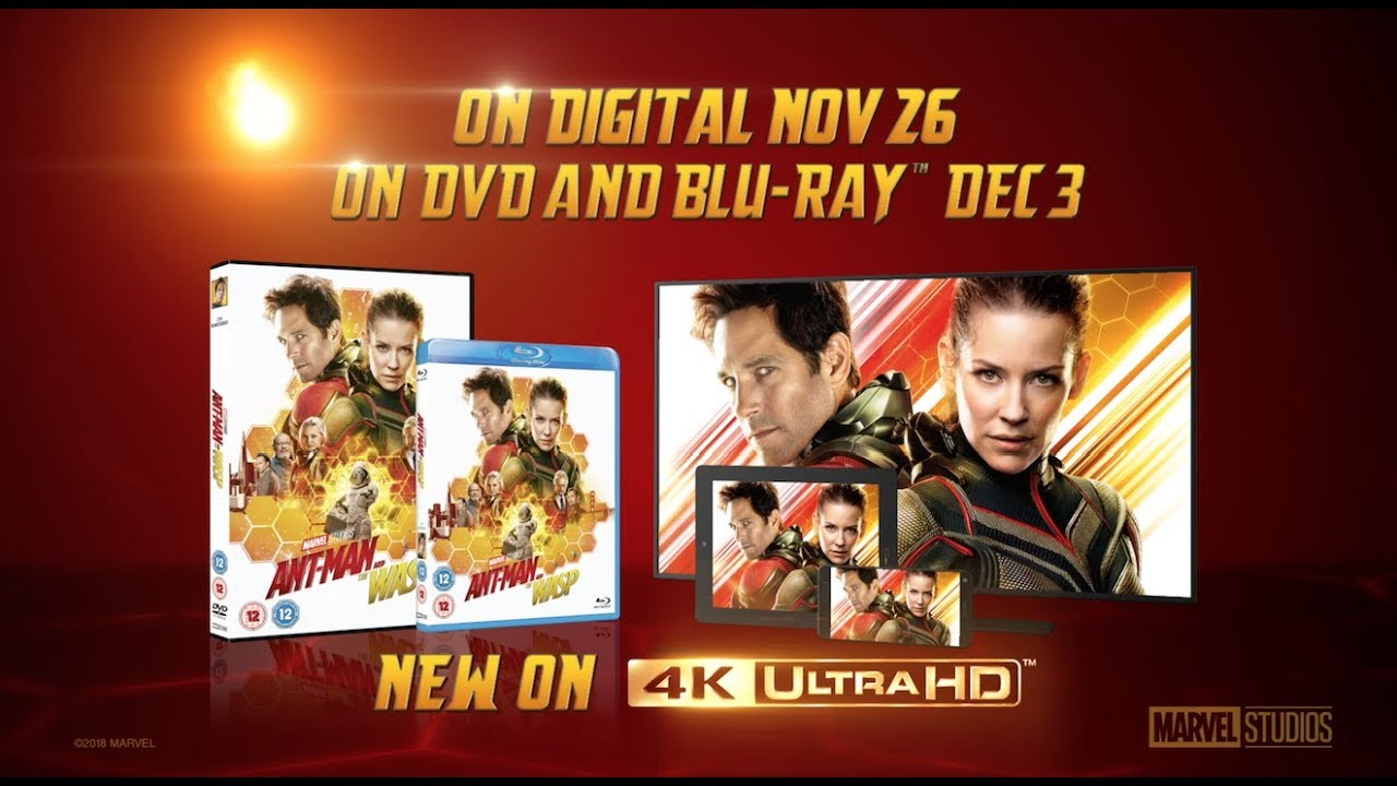 Download Ant Man And The Wasp Coming Soon On Digital & Blu-Ray