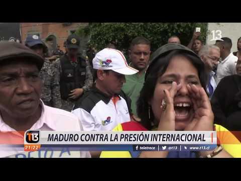 Nicolás Maduro contra la presión internacional