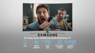SAMSUNG UN78JS9100 ( JS9100 ) Curved 4K SUHD Smart TV // FULL SPECS REVIEW #SamsungTV