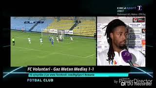 FC VOLUNTARI VS GAZ METAN 1-1 LIGA 1 BETANO 30/07/2018