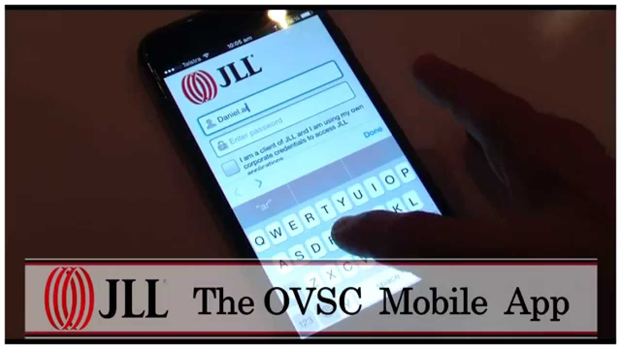 JLL OVSC Mobile APP - YouTube