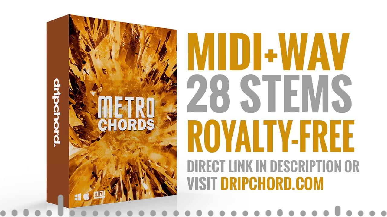 Metro Boomin Loop Pack - MIDI and WAV, Royalty Free