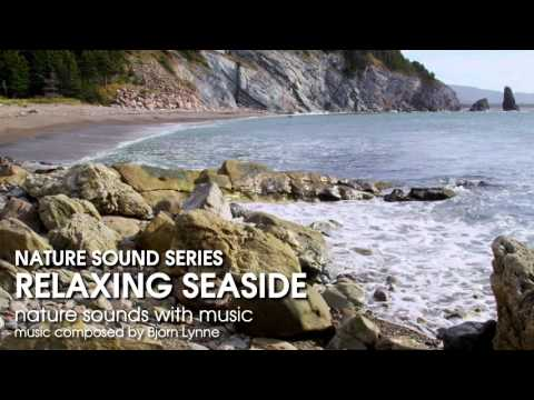 Relaxing Seaside Ocean Waves - with gentle, soothing music