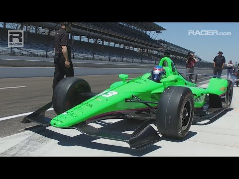 RACER: Danica Patrick Returns To The Indy 500