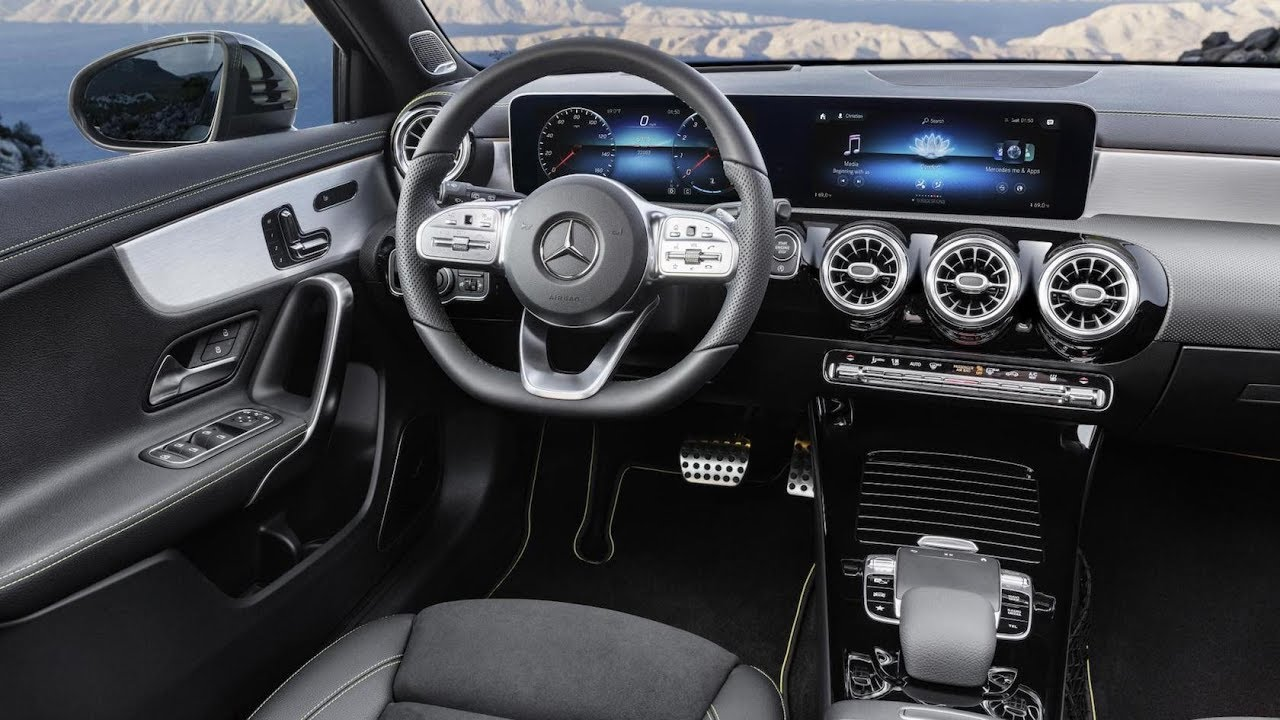 mercedes classe a 2018 int rieur et infotainment youtube