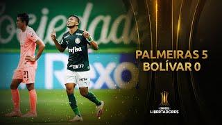 Palmeiras vs. Bolívar [5-0] | RESUMEN | Fase de Grupos | Jornada 5 | Libertadores 2020