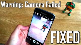Samsung Galaxy S9 S8 S7 Edge S6 S5 Warning: Camera Failed FIXED. Simple steps showing how to do this