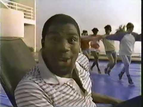 7e06fe46ba382b Dr. J Larry Bird   Magic Johnson 1983 Converse All Stars Shoe Commercial