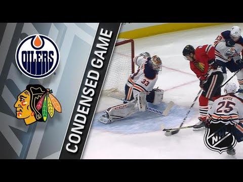 Edmonton Oilers vs Chicago Blackhawks – Jan. 07, 2018 | Game Highlights | NHL 2017/18. Обзор матча