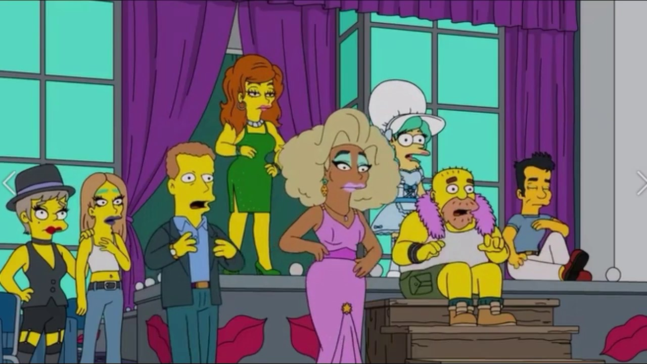 the simpsons werking mom youtube