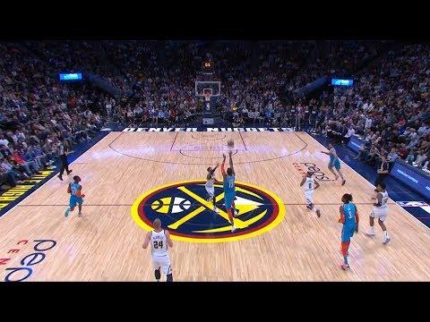 Paul George Hits Half-Court Buzzer Beater - Thunder vs Nuggets | Feb 26, 2019 | 2018-19 NBA Season