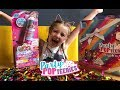 UK Toy Review and Unboxing Party Popteenies Dolls Collectibles Popper Confetti and Glitter Dress