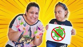 Novas Regras de Conduta sobre Vírus Malvado (Rules of Conduct for Children) - MC Divertida