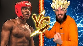 KSI vs PewDiePie Boxing Match (pewdiepie green screen competition)