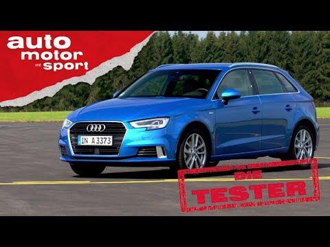Audi A3 Sportback 2.0 TDI: Der teure Golf - Die Tester   auto motor und sport