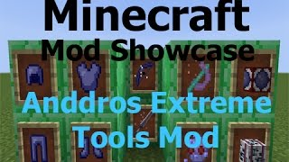 Minecraft: Extreme Tools Mod for 1.7.10 (Mod Showcase)