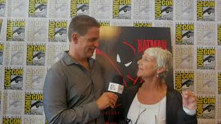 Sdcc 2018 andrea romano from batman: the animated series