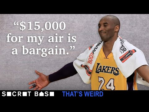 Someone tried to pay $15,000 for a bag of air from Kobe Bryant's final NBA game