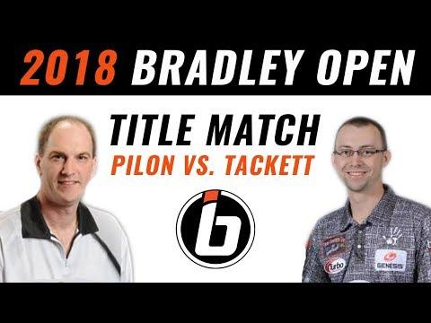 2018 Bradley Open Championship Match