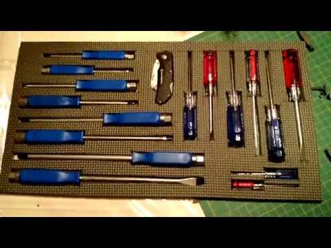 A Cheap and Easy way to Organize your tools in your toolbox!