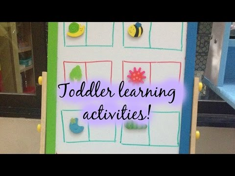 Thumbnail: Toddler Learning Activities (with Free printables) - 14/02/2015
