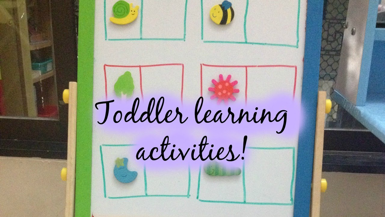 Toddler Learning Activities (with Free printables) - 14/02/2015