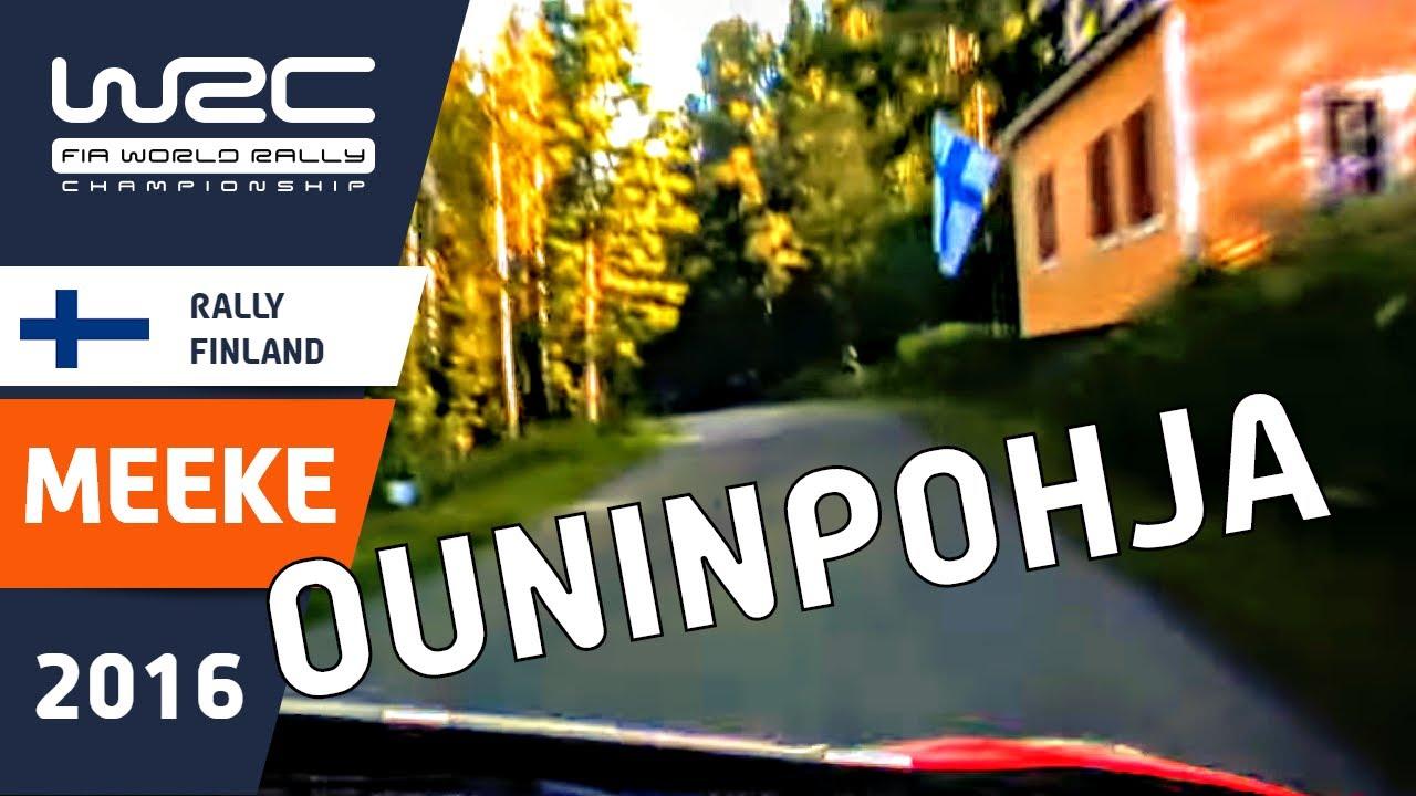 WRC - Neste Rally Finland 2016: Ouninpohja ONBOARD Kris Meeke