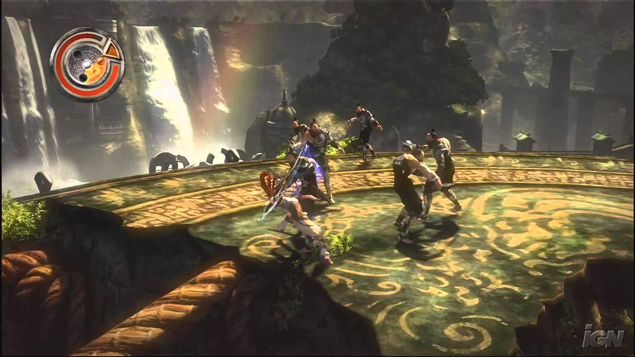 Heavenly Sword Playstation 3 Gameplay Nariko Enters The Youtube