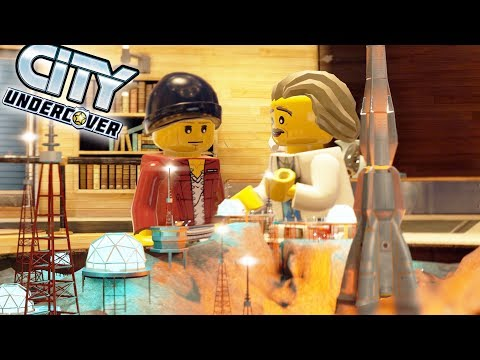 Lego City Undercover Game | SAVE THE PROFESSOR!!  | Lego City Undercover HD Gameplay - Chapter 13