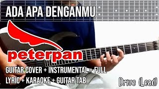 Peterpan - Ada Apa Denganmu (Guitar Cover) Instrumental