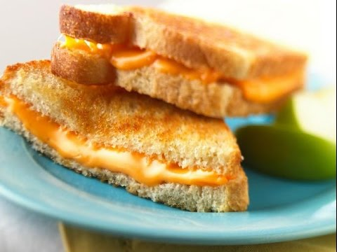 Comidas rapidas y faciles de hacer sandwich de queso con for Comidas ricas y faciles de preparar