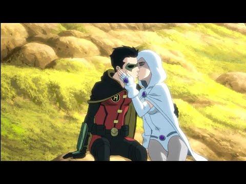 Damian Raven Kiss Scene Justice League Dark Apokolips War Youtube