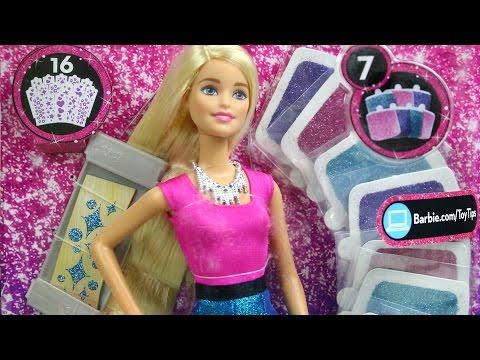 Barbie Glitter Hair / Barbie Brokatowe Włosy - Mattel - MegaDyskont.pl