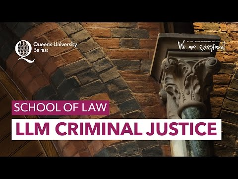 LLM Criminal Justice - School of Law