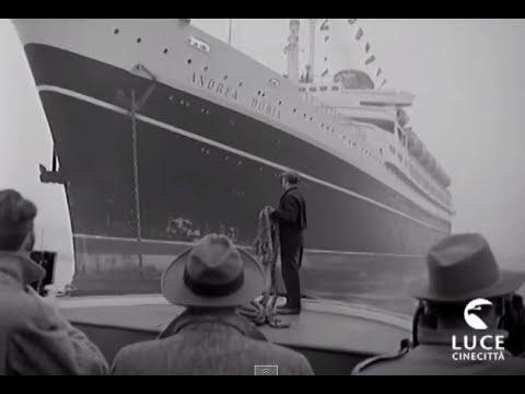Andrea Doria: Dal varo al naufragio