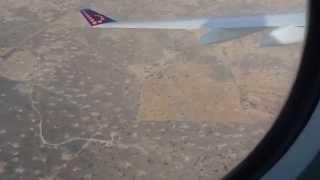 AEROPORT DE OUAGADOUGOU - BURKINA FASO - ATERISAGE